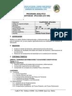 Civ308 Contenido y Bibliografia Uagrm