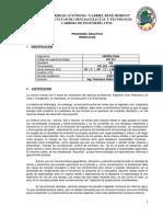 Civ333 Contenido y Bibliografia Uagrm