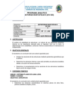 Civ201 Contenido y Bibliografia II Uagrm