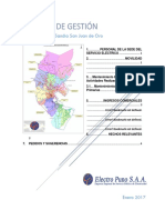Modelo Informe de Gestion Periodo 2017