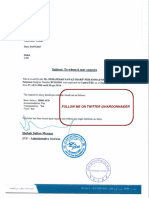 Iqama and Employment Documents of Nawaz Sharif