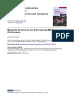 Megaship Economies FINAL