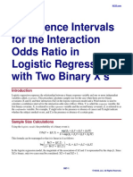 Confidence Intervals for the Interaction Odds Ratio in Logistic Regression with Two Binary X's.pdf