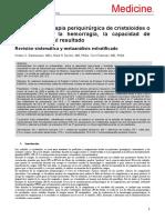 2.3 Efecto de La Terapia Perioperatoria de Cristaloides o Coloides Sobre La Hemorragia (1)