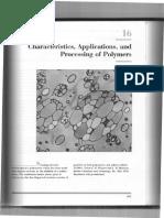 Introdução à Ciência Dos Materiais (Polímeros)