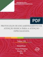 Protocolos AB Vol8 Hematologia