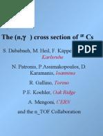 The (n,g) Cross Section of 135_Cs.