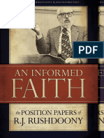 An Informed Faith