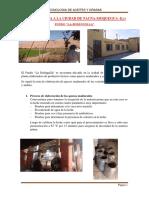 Visita Tecnica a La Ciudad de Tacna
