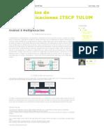 Fundamentos de Telecomunicaciones ITSCP TULUM_ Unidad 5 Multiplexacion