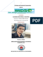 RDSO Project By Shashwat Mishra