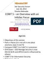 Cobit 5 - CSF-Jul2012
