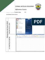 353181585 Actividad Uno de Excel 2010