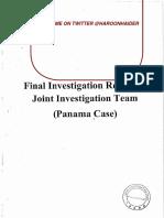 Summary of Investigation Panama JIT