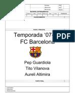 FC Barcelona Sessions