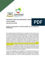 Plan Estrategico Alcaldia Purificacion 1