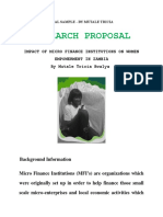 90994786-RESEARCH-PROPOSAL-SAMPLE-on-Women-Empowerment-and-Micro-Finance.doc