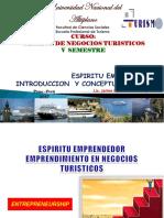 SESION N° 001 ENTREPRENIURSHIP EMPRENDURISMO