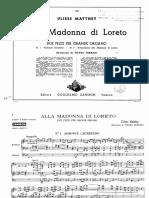 Matthey - Alla Madonna di Loreto