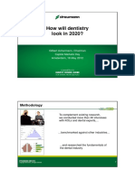 Strauman- Dentistrry Study
