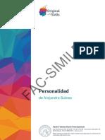 Report Demo Personalidad Es