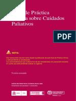 Guía Clínica de Cuidados Paliativos