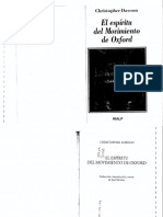 El espíritu del movimiento de Oxford - Christopher Dawson.pdf