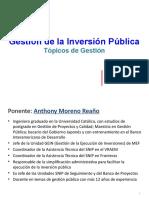 Clase Gestión Tacna - Abril 2014
