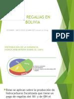 Idh y Regalias en Bolivia