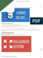 4 Dicas (Não Tão Comuns) de CSS - Labs Bluesoft