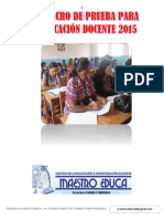 SIMULACRO DE EVALAUCION DE REUBICACION DE ESCALAS - 2015  CON RESPUESTAS.pdf