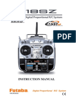 T18sz - 18 Channel Digital Proportional R/c System Manual