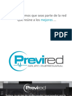 Previred - Brochure Plan de Bienestar