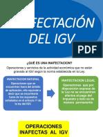 Inafectación Del Igv