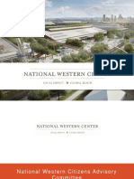 Office of the National Western Center's June 2017 presentation to the Community Advisory Committee