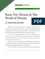 Kuan Yin Dreams the World of Dreams