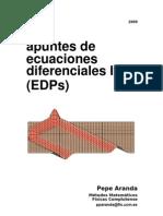APUNTES ECUACIONES EN DERIVADAS PARCIALES