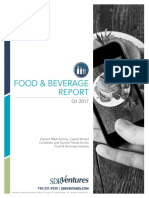 Food Beverage Report Q1 2017