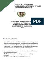 101155830 CONTROL de PROCESOS Sistemas Dinamicos de Primer y Segundo Oden