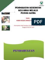 Peningkatan Kesehatan Keluarga Melalui Pusyan Gatra