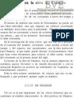 Cañellas Rey, Alicia; Cañellas Rodríguez, Rafael (1979)  El dolor de la obra de Chamizo. Revista de Estudios Extremeños tomo XXXV/II