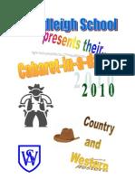 Cabaret Program Finished 2010