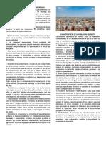 Caracteristicas de La Poblacion Urbana