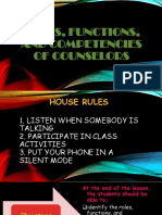Demo on Functions of Councilors