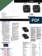 Escort 9500ix Passport Owners Manual