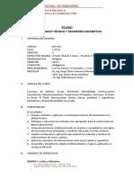 MC505 - Dibujo Tecnico y Geometria Descriptiva - FIM