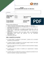 Prueba Adicional Investigacion de Mercados Executive 2014-2
