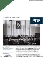 (La Creación Del Estado de Israel - Revista El Medio)