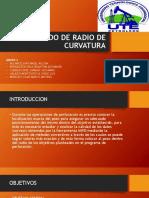 Método de Radio de Curvaturainforme