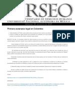 Primera Eutanasia Legal en Colombia _ Perseo – PUDH UNAM